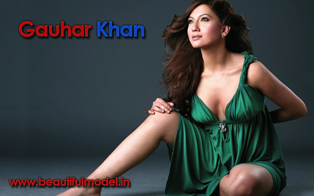 Gauhar Khan Measurements Height Weight Bra