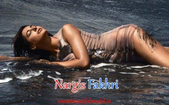Nargis Fakhri Hips Size