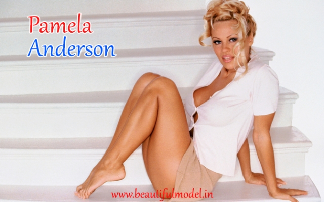 Pamela Anderson Measurements Height Weight Bra Size Age