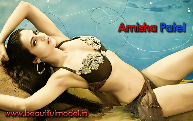 Ameesha Patel Measurements Height Weight Bra Size