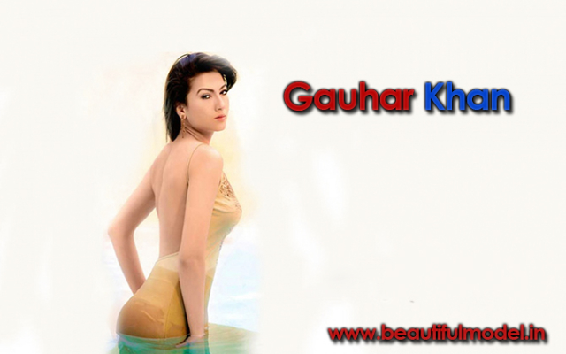 Gauhar Khan Measurements Height Weight Bra Size