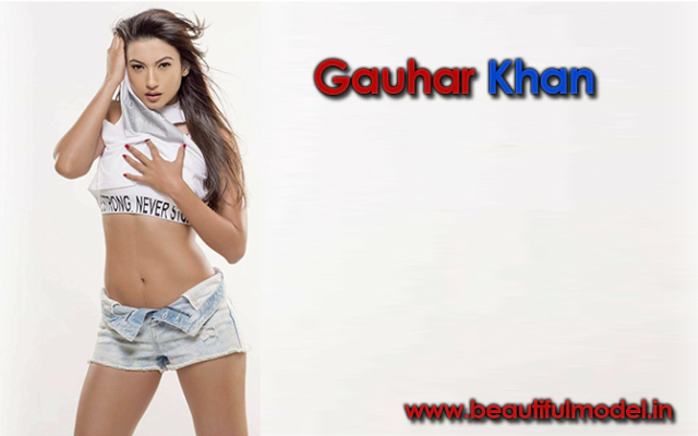 Gauhar Khan Measurements Height Weight Bra Size Age
