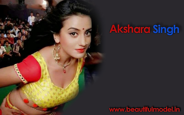 Akshara Singh Measurements Height Weight Bra