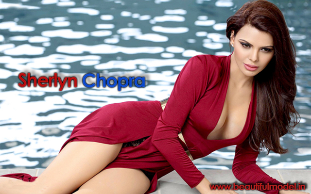 Sherlyn Chopra Measurements Height Weight Bra